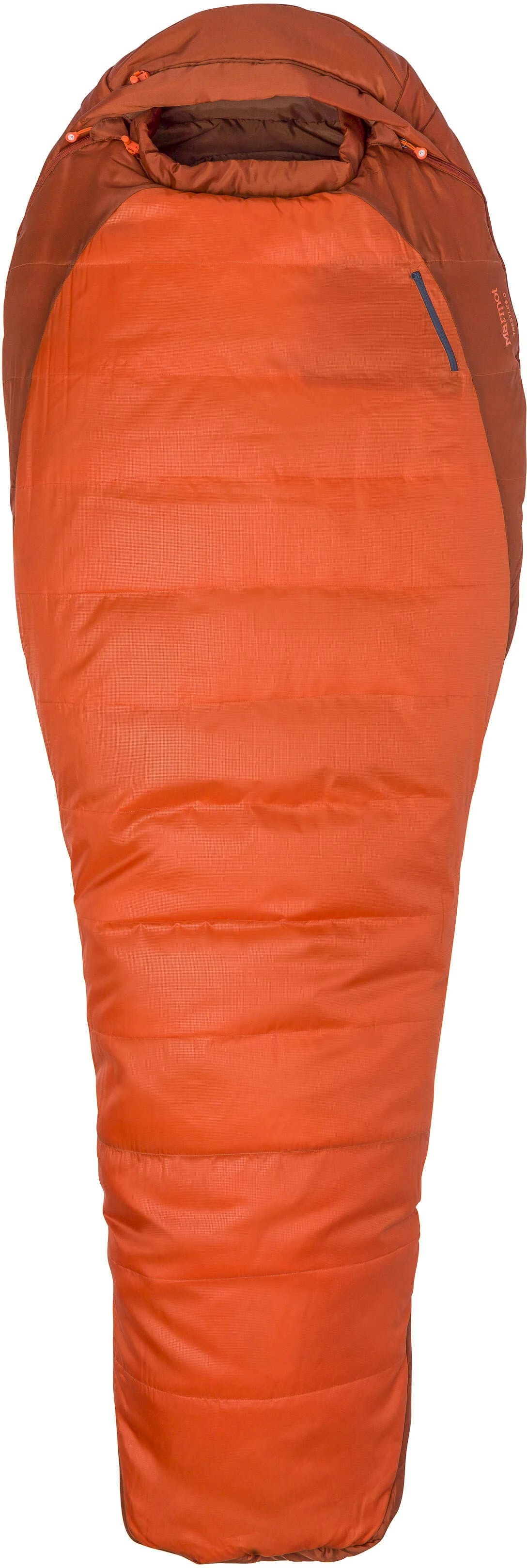 Marmot Trestles 0 Sleeping Bag - Orange Haze/Dark Rust