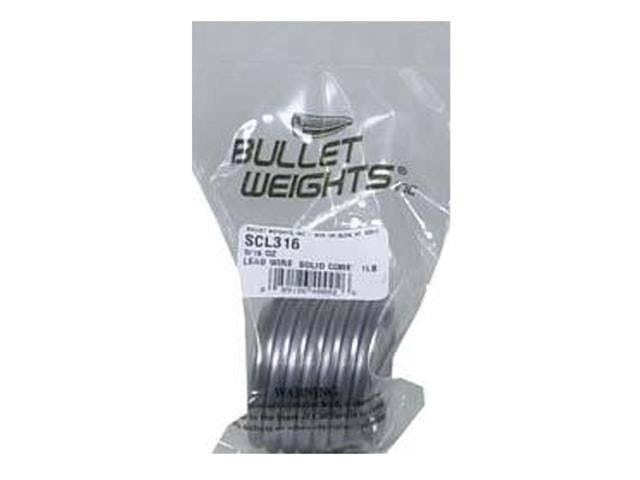 Bullet Weights Solid Core Lead Wire, 1 lb