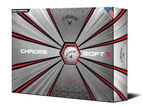 Callaway 2017 Chrome Soft X Golf Balls (One Dozen)