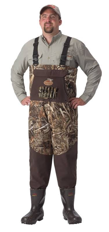 Waterfowl Wading Systems Northern Guide Bootfoot Breathable Waders - Realtree Max4 13 Stout