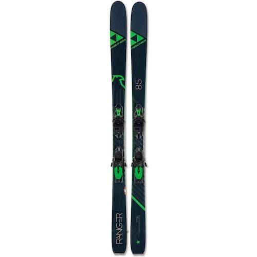 Fischer Ranger 85 Skis w/ RSW 11 GW Powerrail Bindings