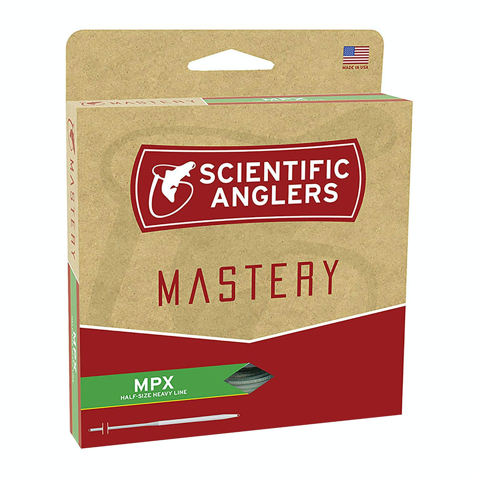 Scientific Anglers Mastery MPX Fly Line - Amber/Willow