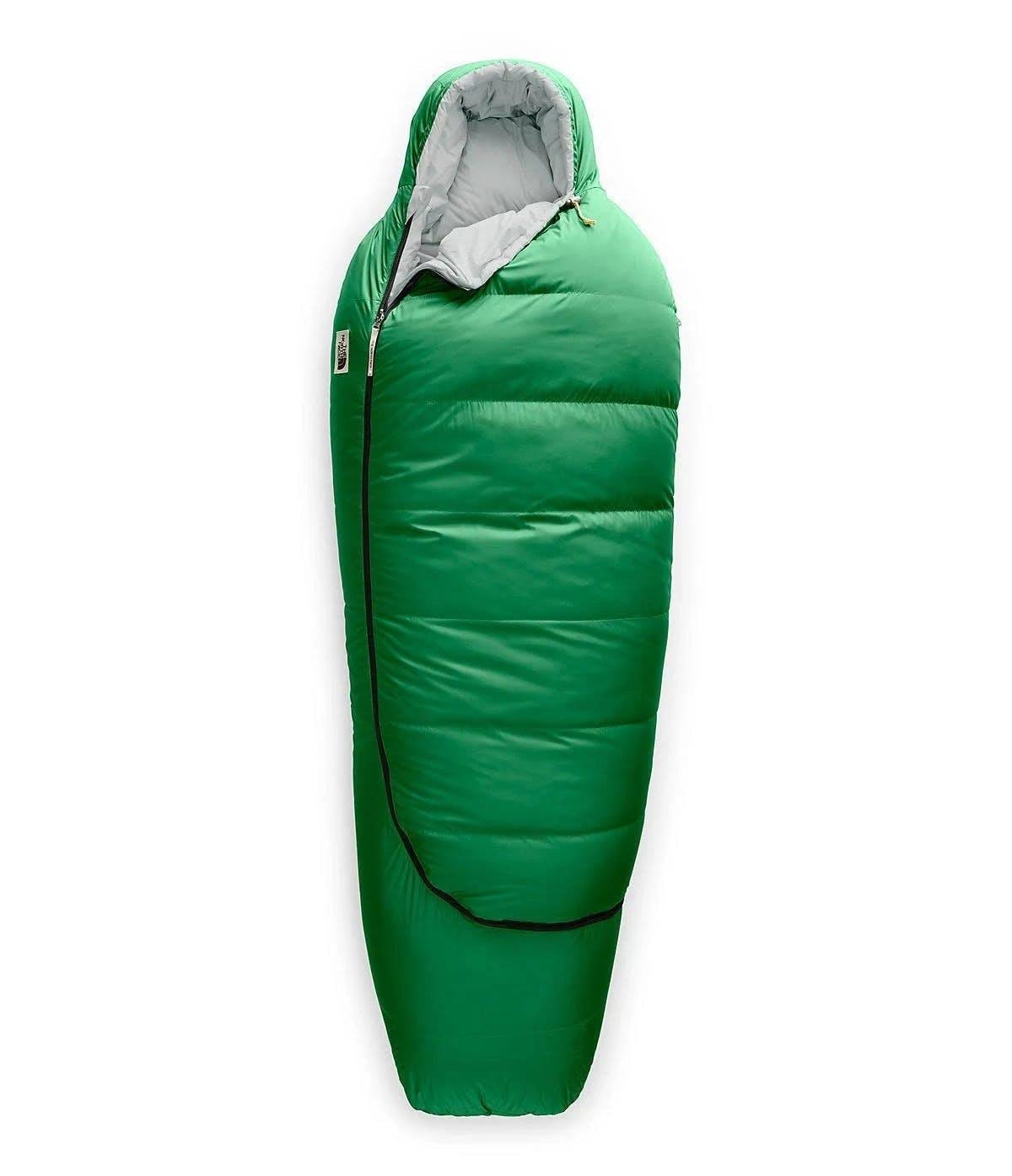 The North Face Eco Trail Down 0 Sleeping Bag: Sullivan Green