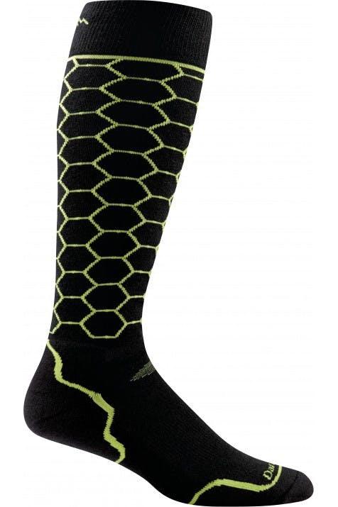 Darn Tough - Honeycomb OTC Light - MEDIUM - Lime