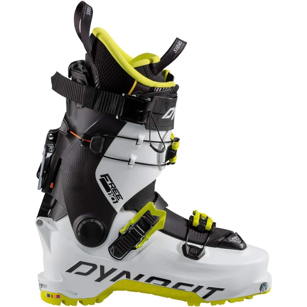 Dynafit Hoji Free 110 Ski Boots In White/lime Punch Size 30.5