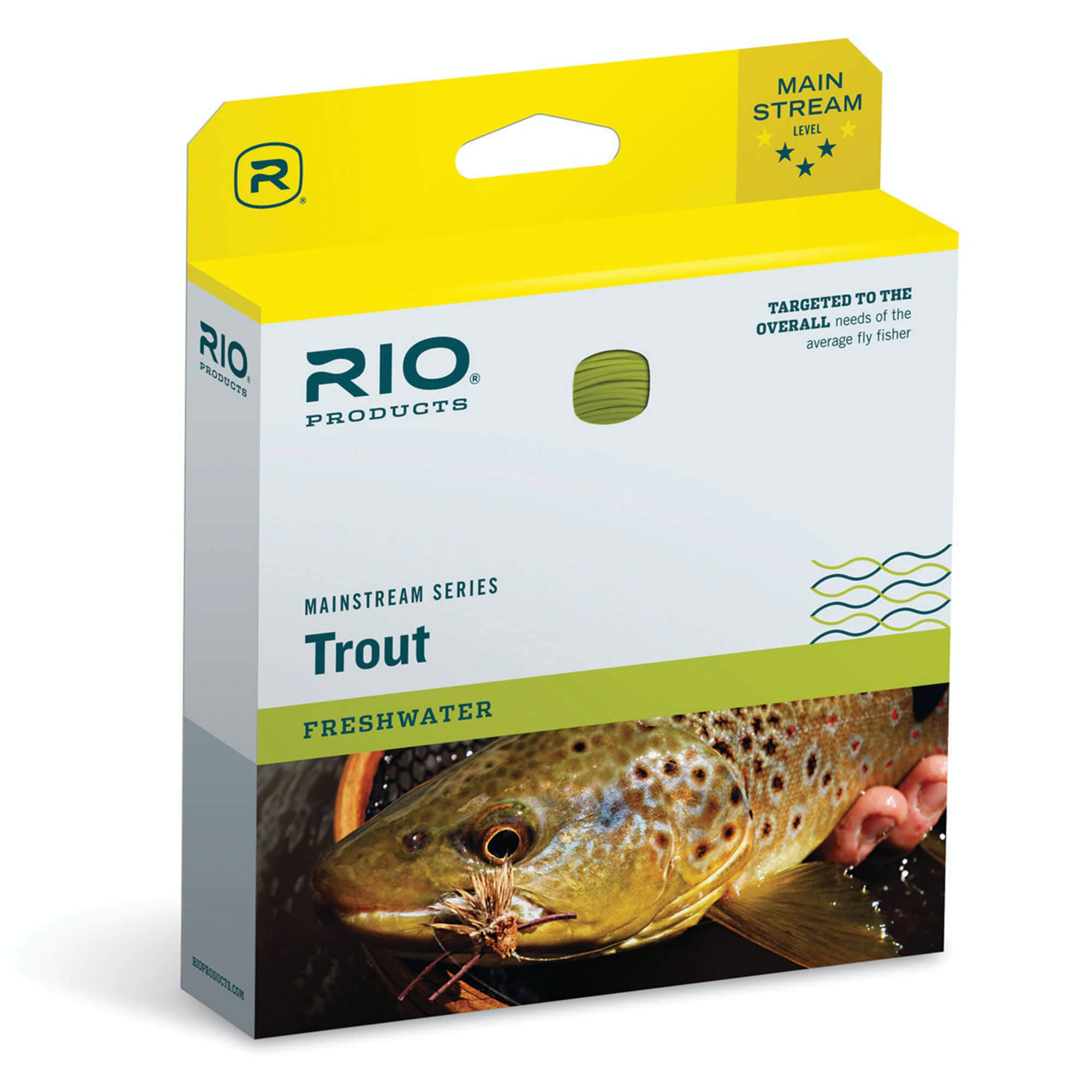 Rio Mainstream Trout Fly Line, WF7F