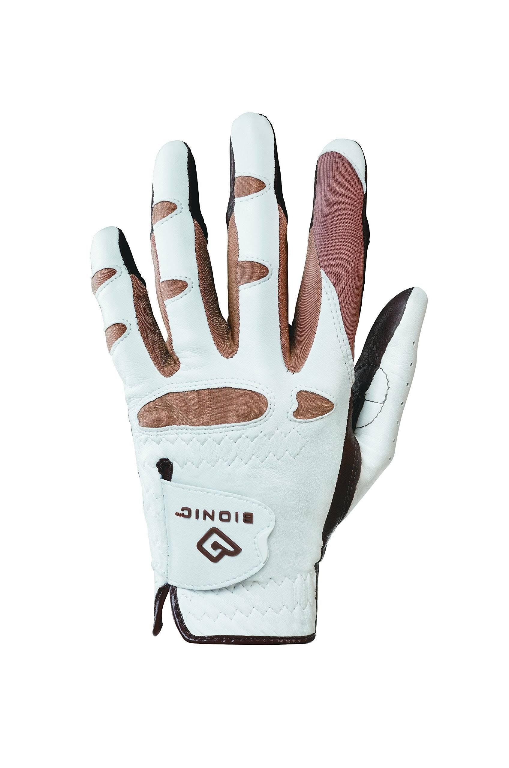 Bionic Women's StableGrip Golf Glove, Size: Medium/Large, White