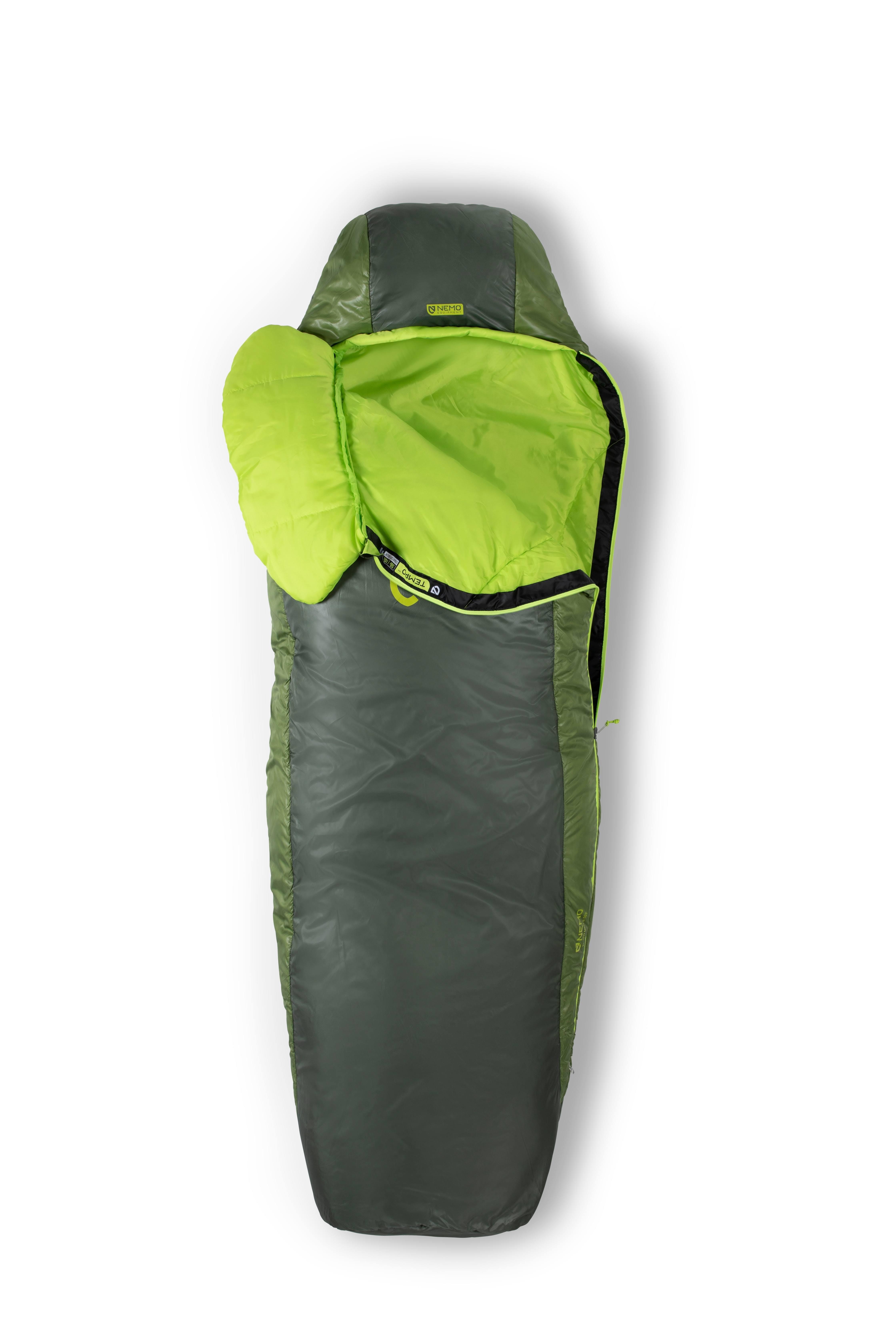 Nemo Men's Tempo 35 Sleeping Bag - Sapling/Dark Timber - Long