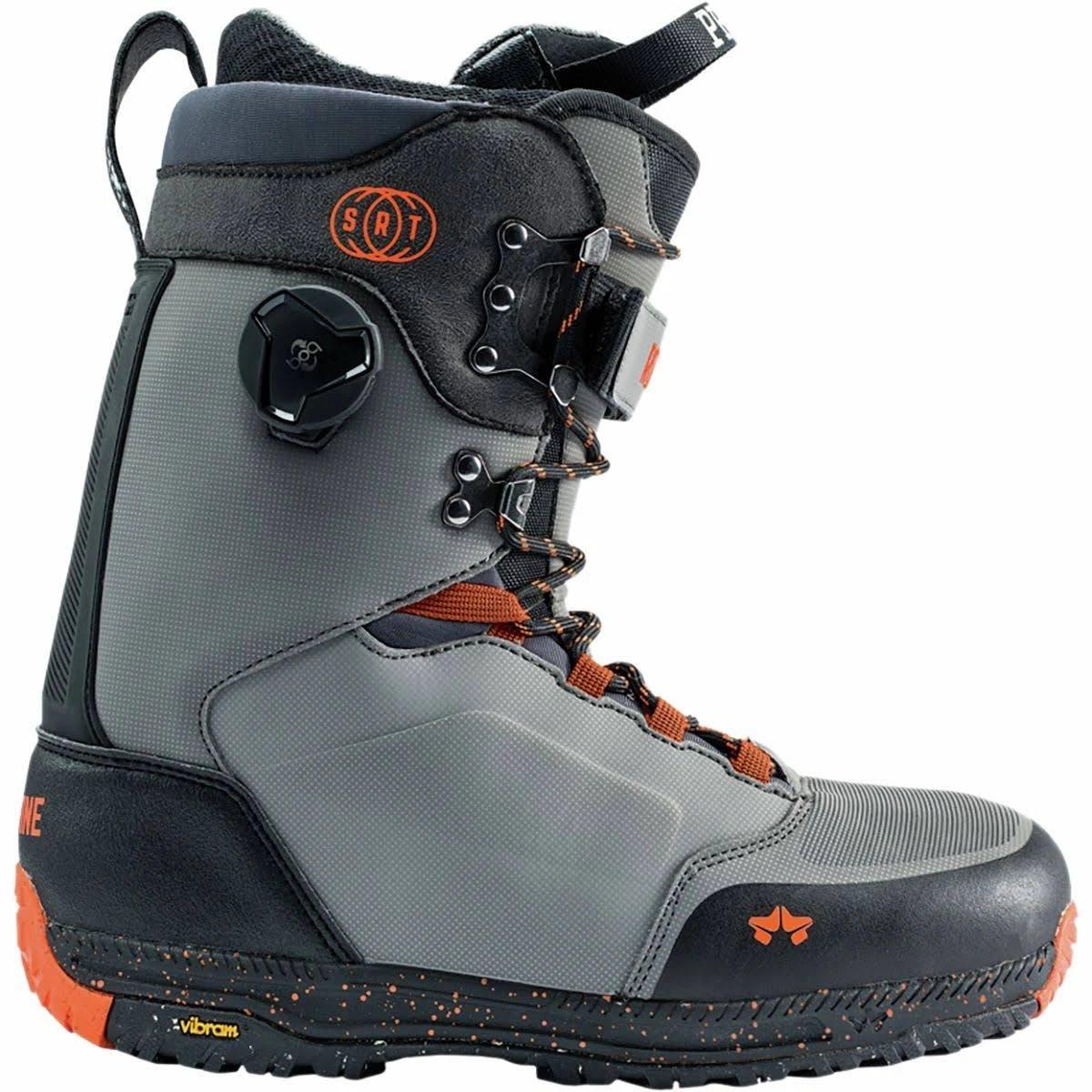 Rome Libertine Srt Snowboard Boots Men's Slate/orange 10.0