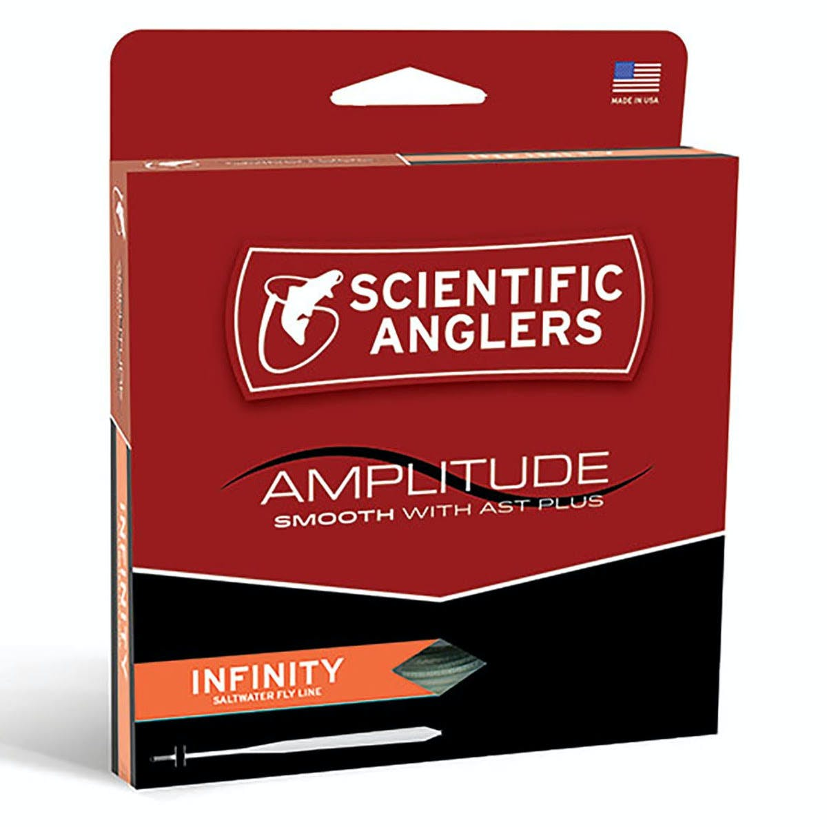 Scientific Anglers Amplitude Smooth Infinity Salt Fly Line - WF11F