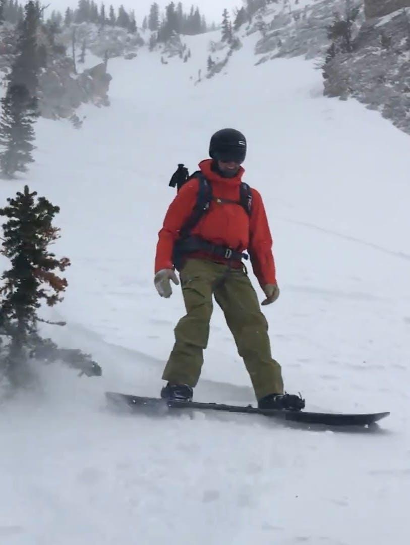 Snowboard Expert Isaac C