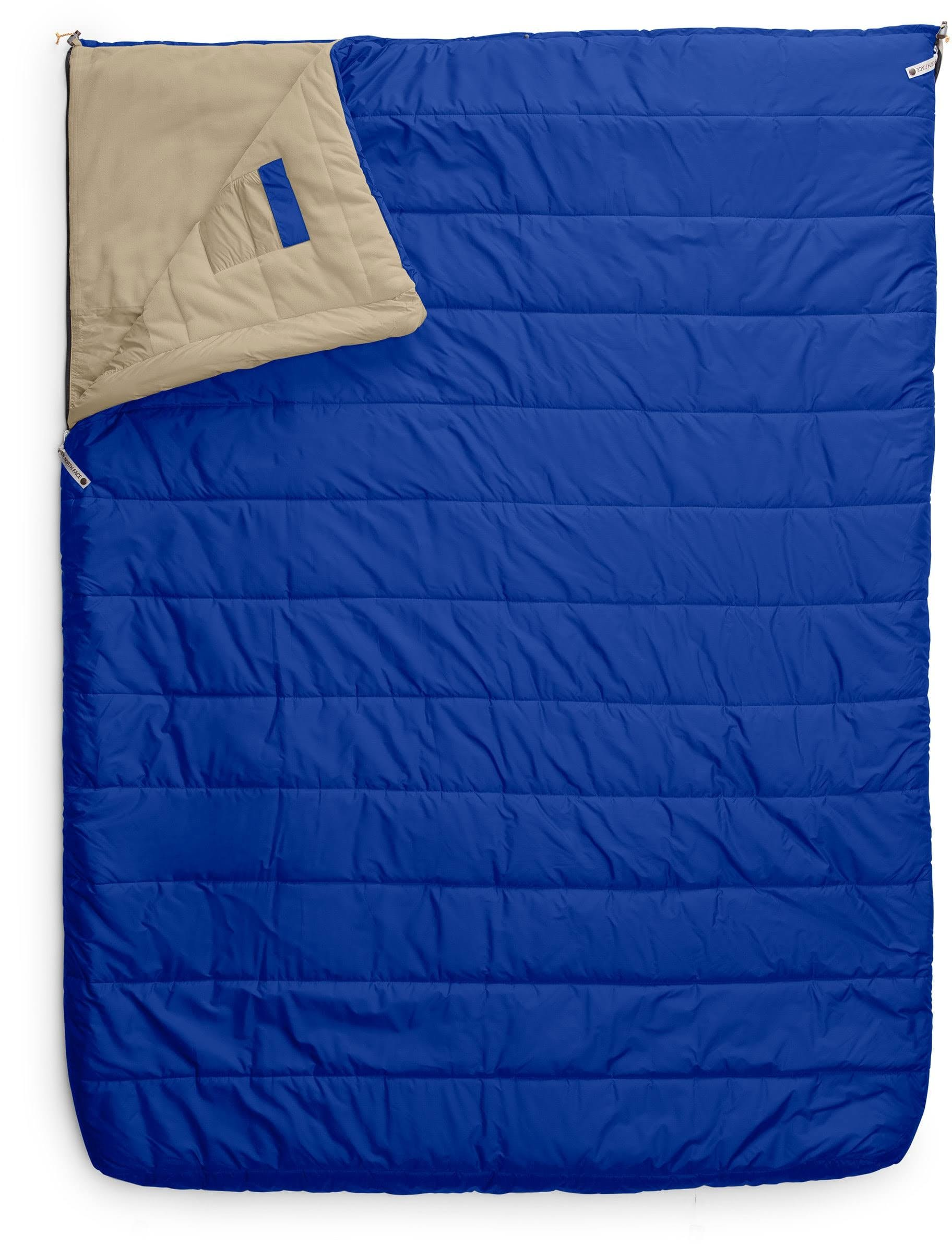 The North Face Eco Trail Bed Double 20 Sleeping Bag: Blue