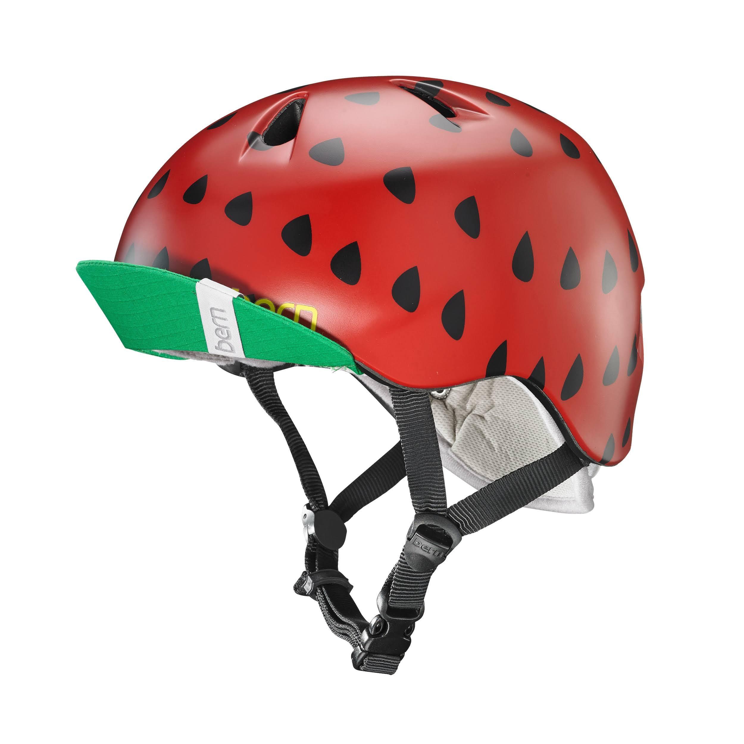 Bern Nina Helmet, Satin Red Strawberry, Xss
