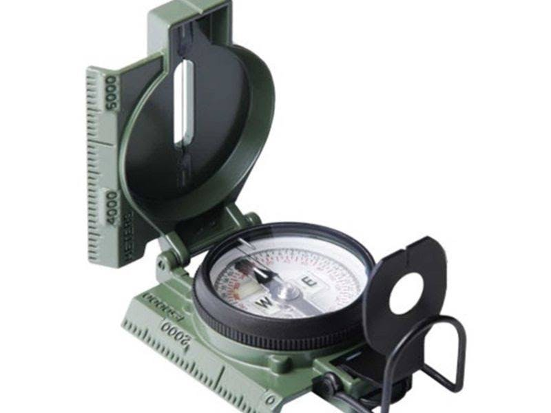 Cammenga Phosphorescent Lensatic Compass 27 - Northern Hemisphere Olive Drab NSN 6605-01-571-6052 27