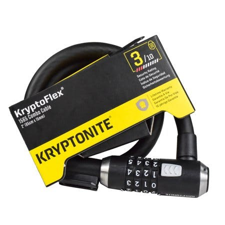 """Kryptonite 2' 2"""" KryptoFlex 1565 Combo Cable 005254 Two Foot Cable Length"""