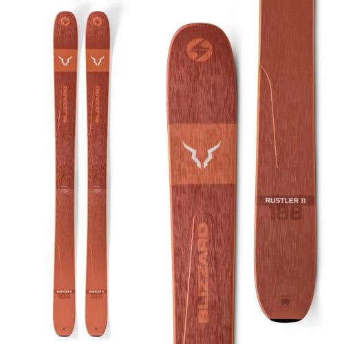 Blizzard Rustler 11 Skis Orange
