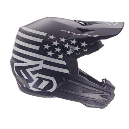 6D Helmets ATB-1 Tactical DH/BMX Bicycle Helmet - Matte Black - Large
