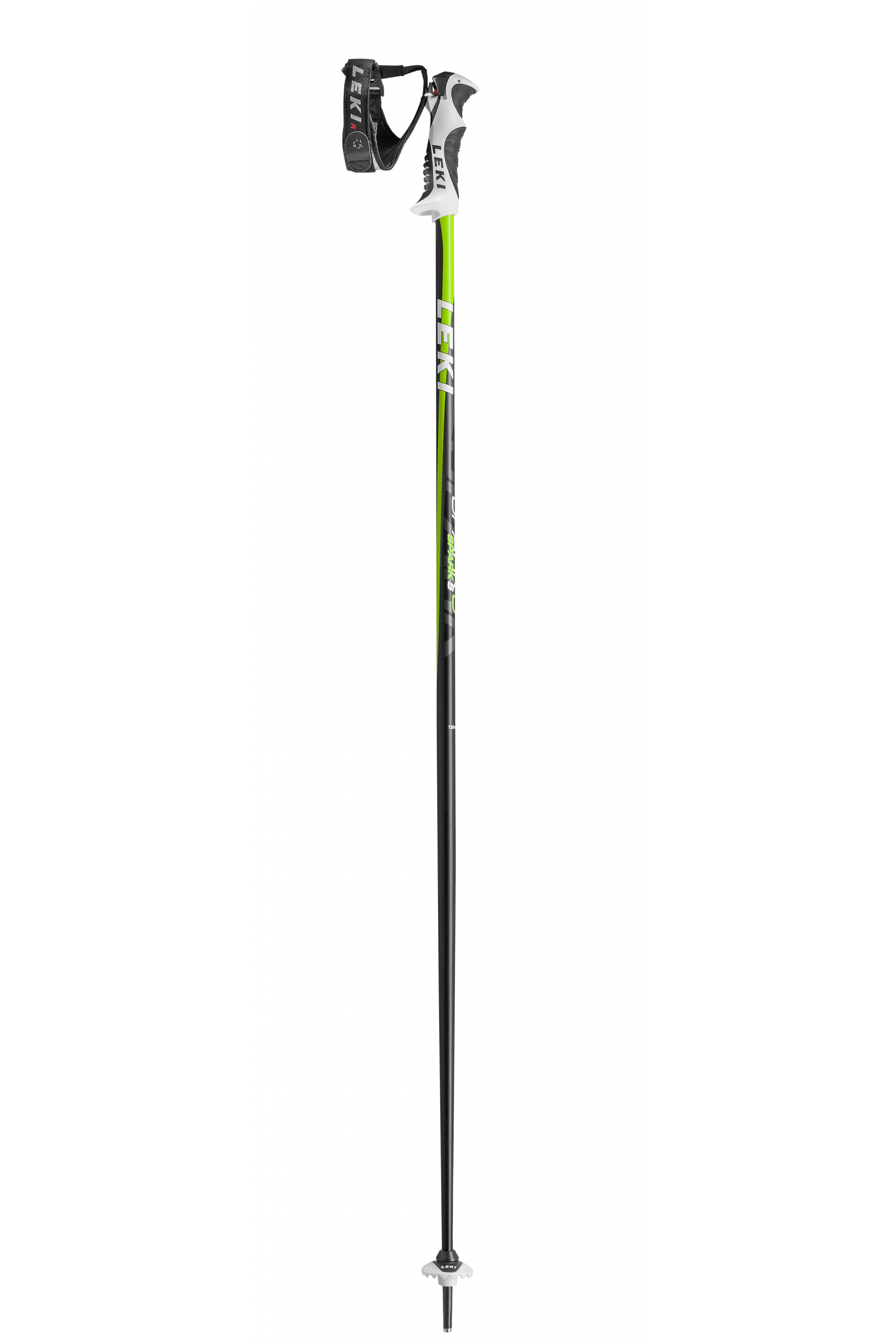 Leki Spark S Lite Trig Ski Poles 110 Anthracite Green