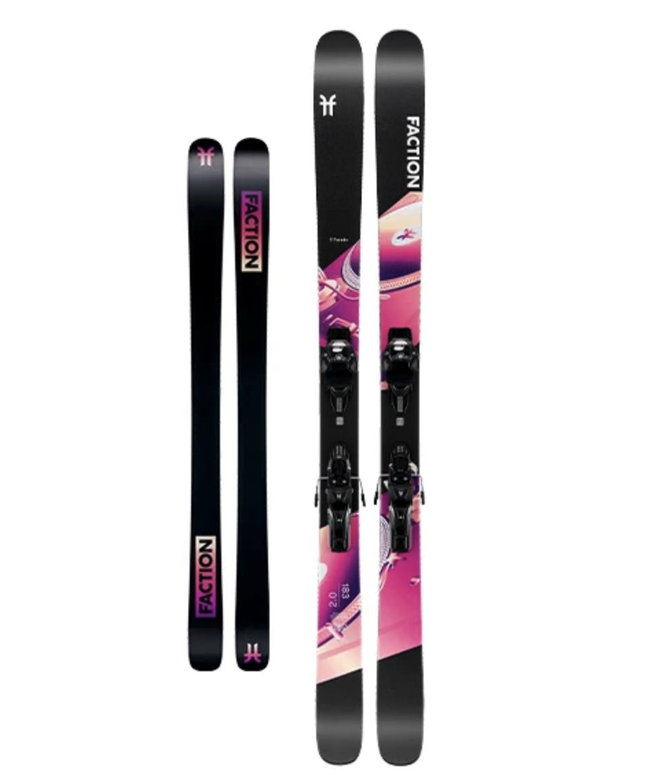 Faction Ski Prodigy 2.0 Pre-mounted Skis · 2020