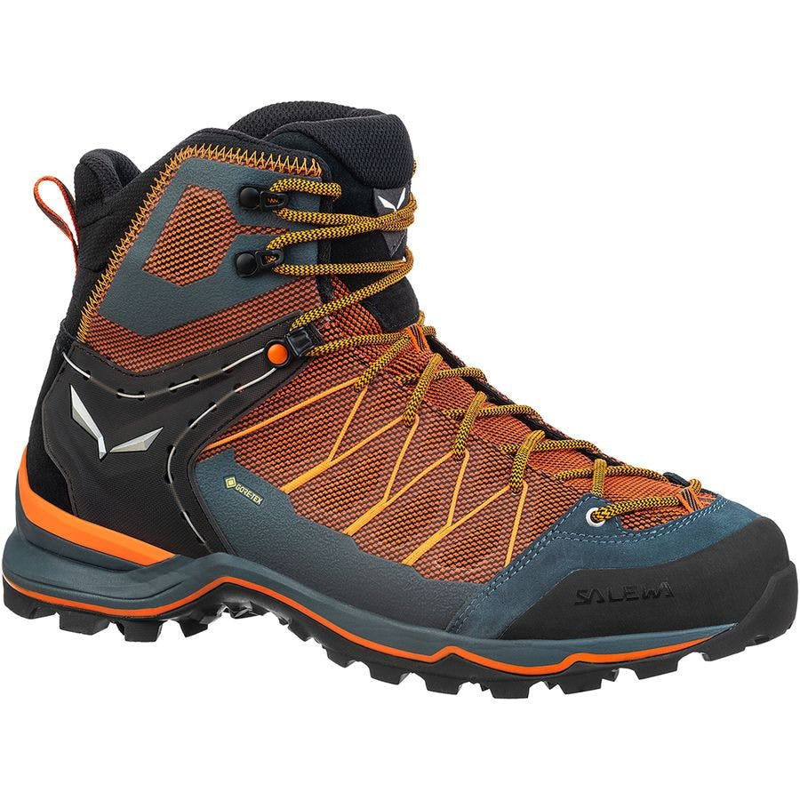 SALEWA - MTN TRAINER LT MD GTX M - 12.5 - Black Out/Carrot
