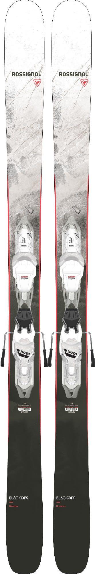 Rossignol Blackops Women's Dreamer Ski w/ LOOK 10GW Bindings