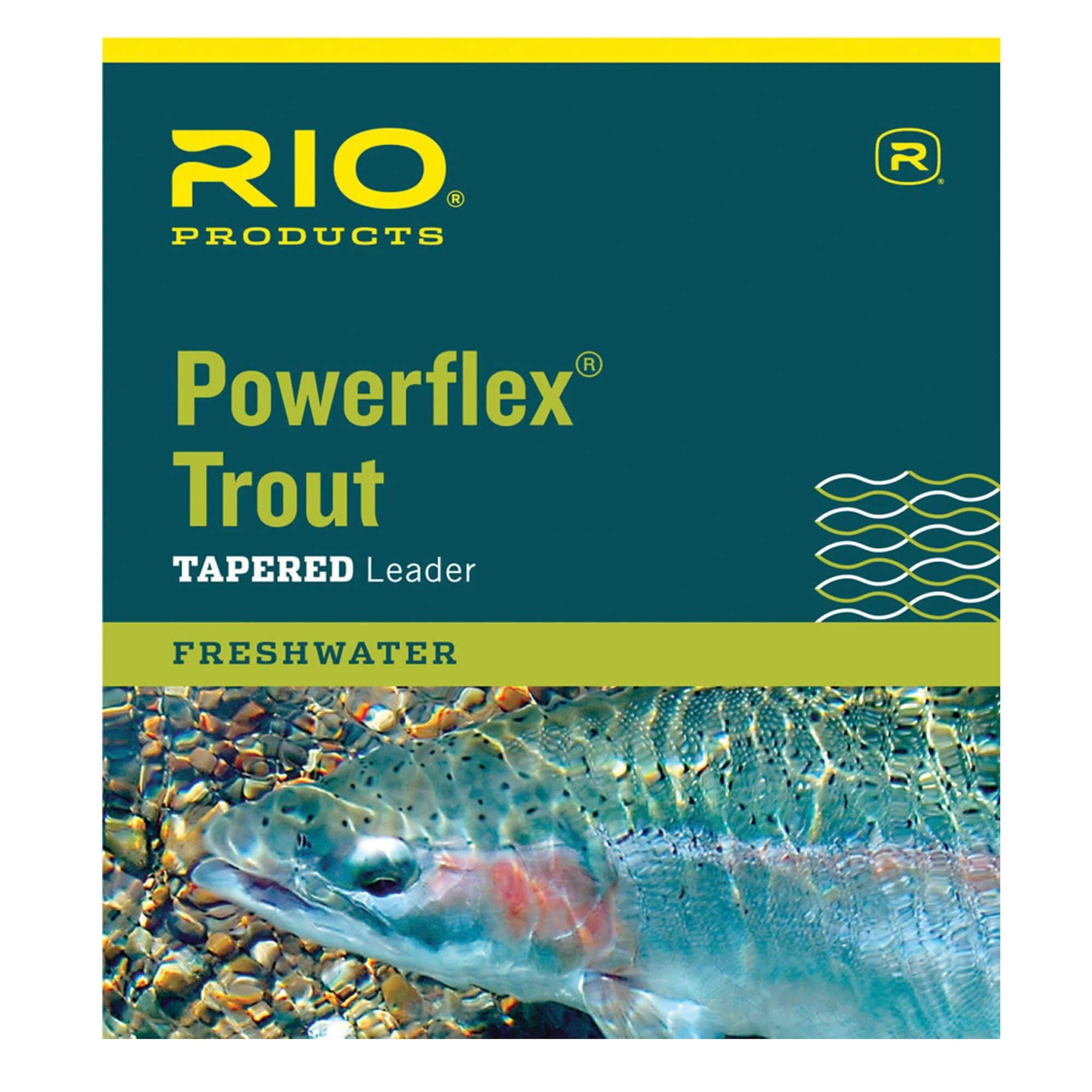 Rio Powerflex Trout Leader 9ft / 1x