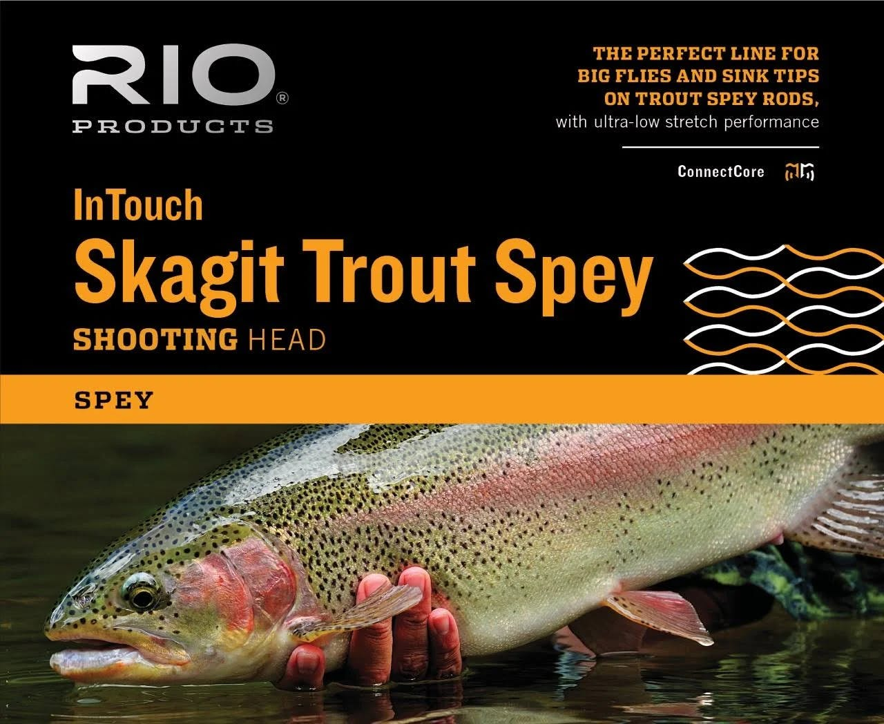 Rio InTouch Skagit Trout Spey Shooting Head 300 Gr