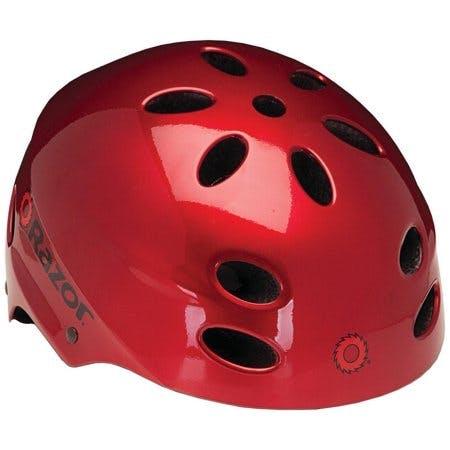Razor V17 Multi-Sport Youth Helmet, Lucid Red