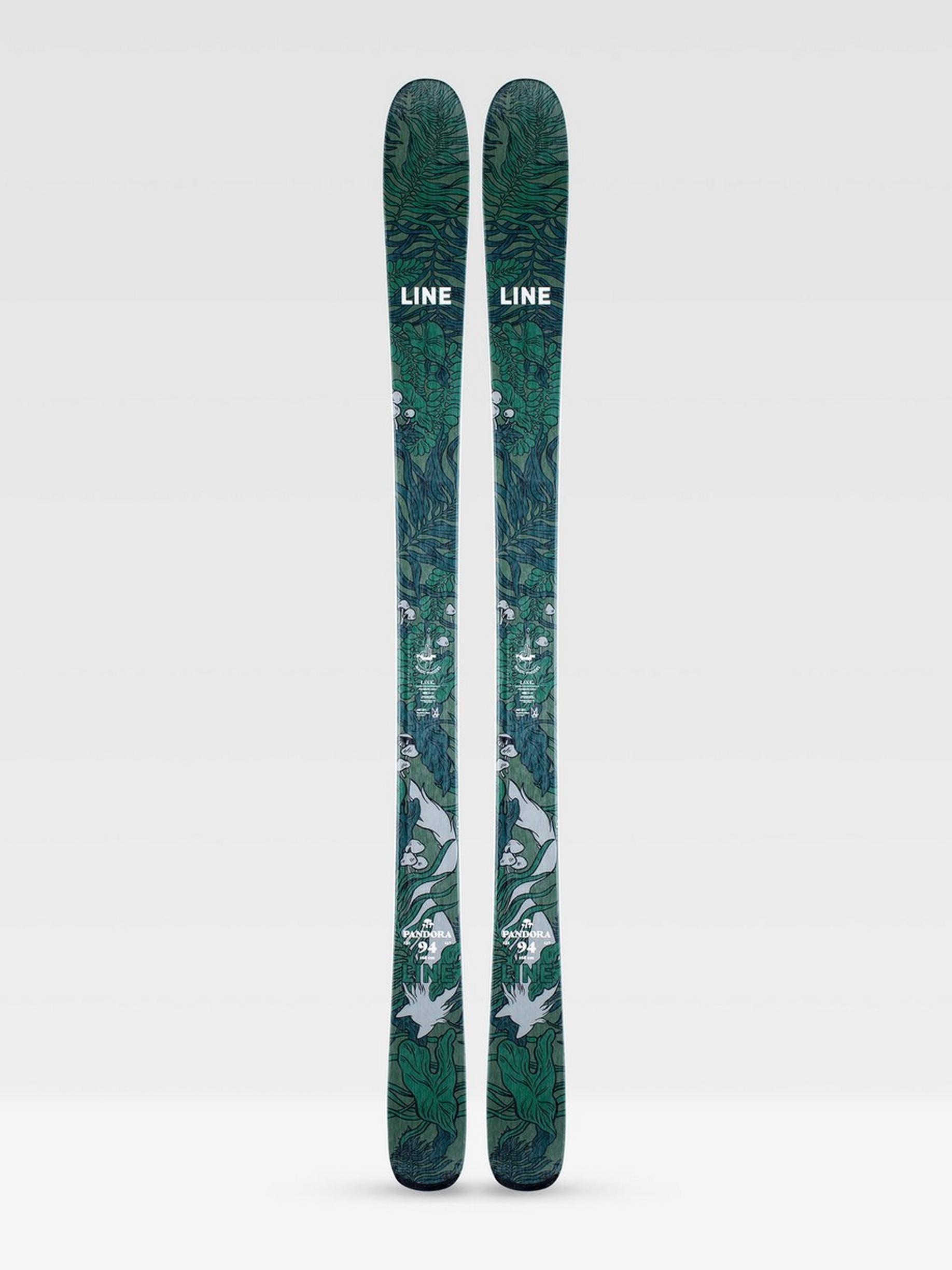 Line Pandora 94 Skis · 2021