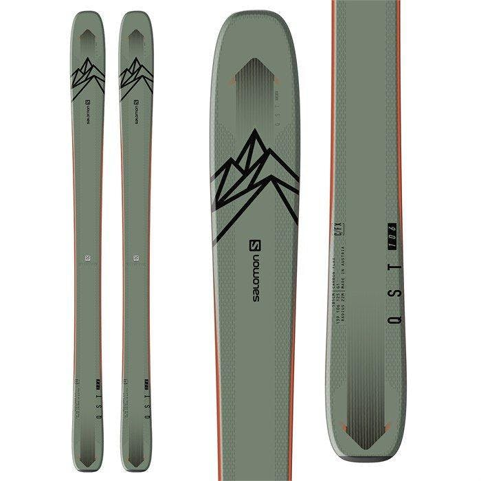 Salomon QST 106 Skis · 2021