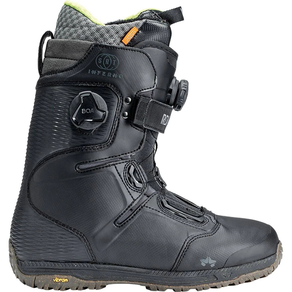 Rome Inferno Srt Snowboard Boots Men's Black 11.5