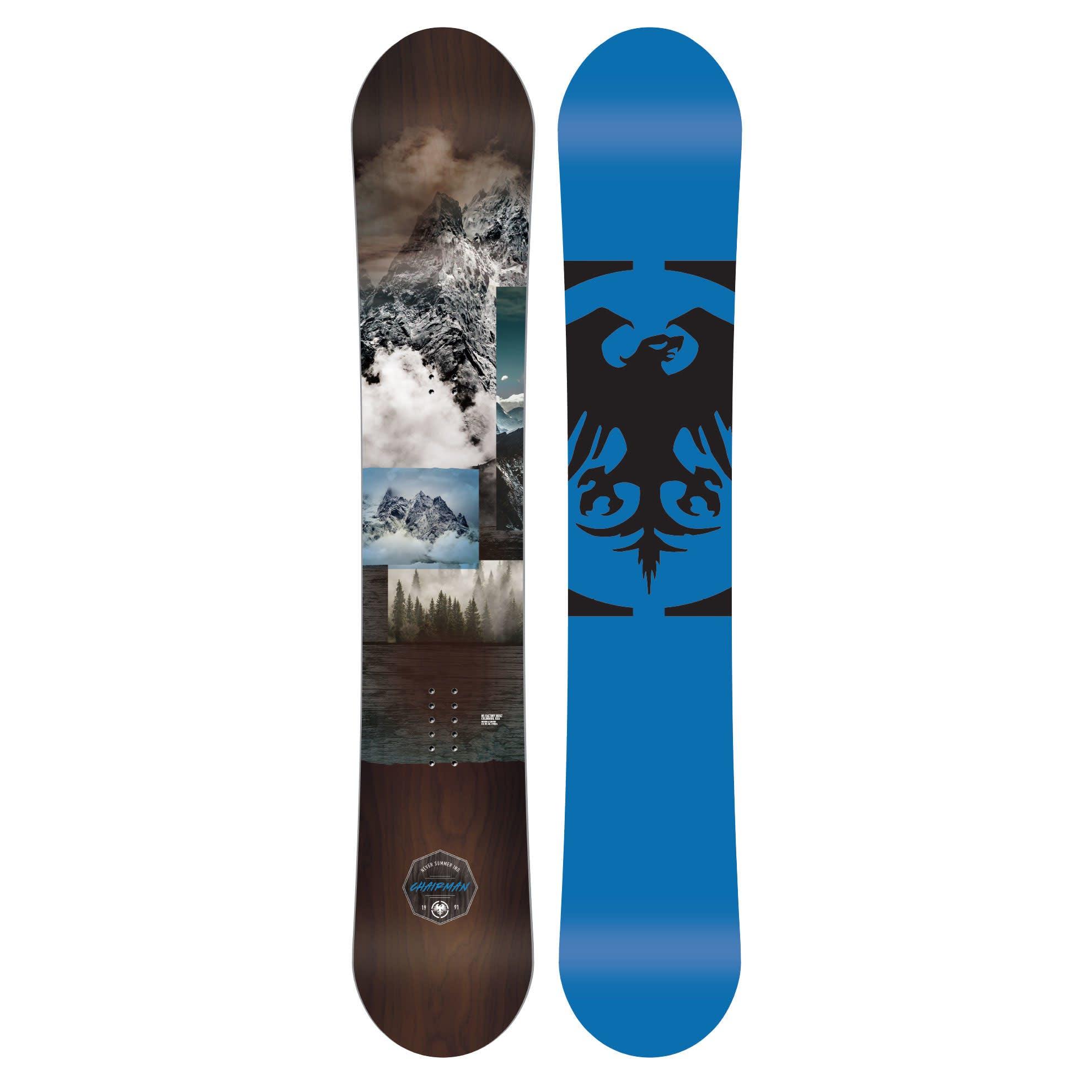 Never Summer Chairman  Snowboard · 2020 · 160 cm
