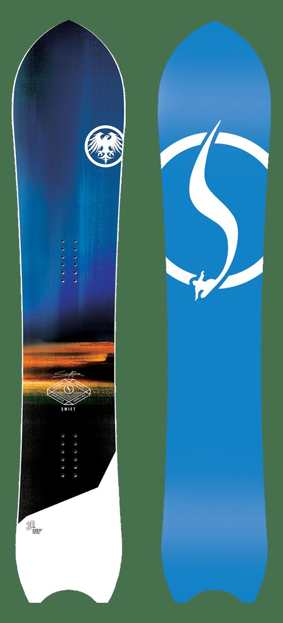 Never Summer Swift Snowboard · 2021