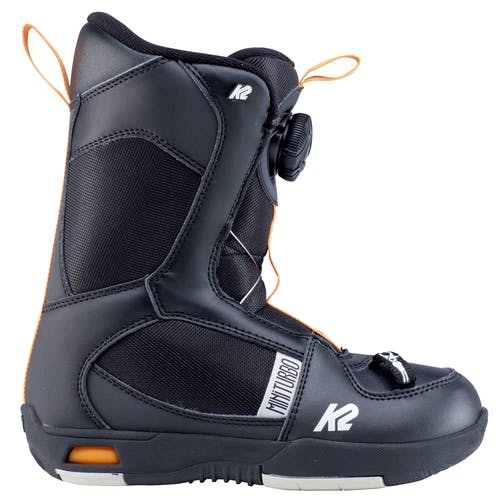 K2 Mini Turbo Youth Snowboard Boots  Black 3 · 2020