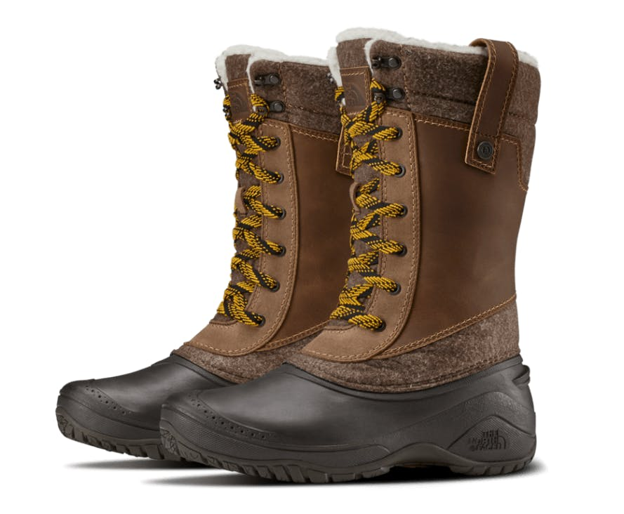 THE NORTH FACE - SHELLISTA III MID W - 9 - Demitasse Brown/Cara
