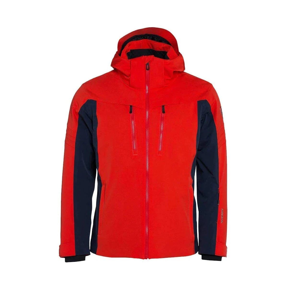 Rossignol Course Hooded Jacket Light Crimson Medium
