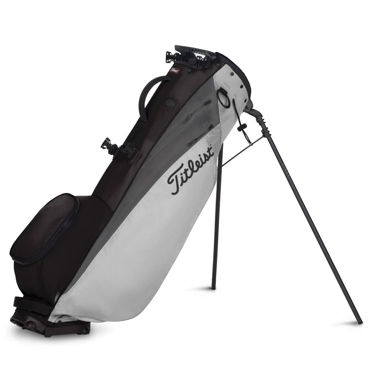 Titleist Players 4 Carbon Stand Bag - Grey Charcoal Black
