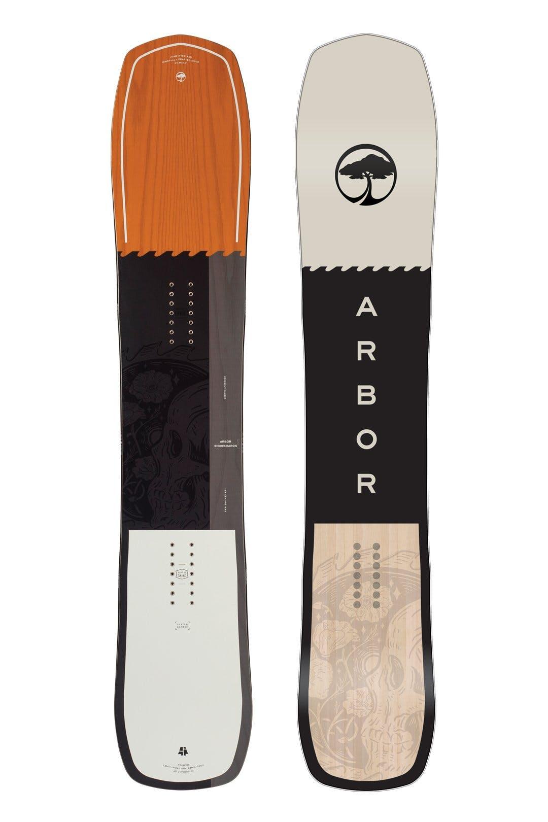 Arbor Crosscut Rocker Male  164mw Snowboard