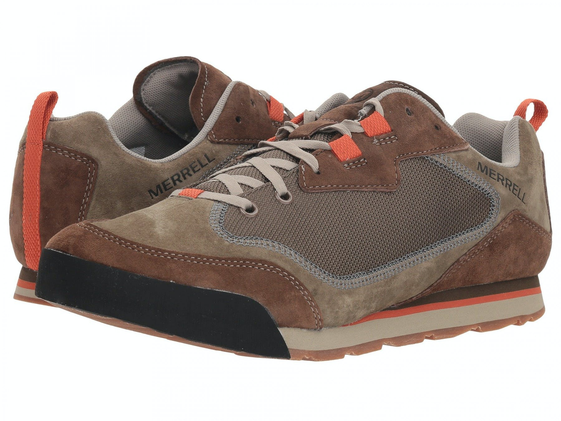 MERRELL - BURNT ROCK TRAVEL SUEDE - 9.5 - Dusty Olive
