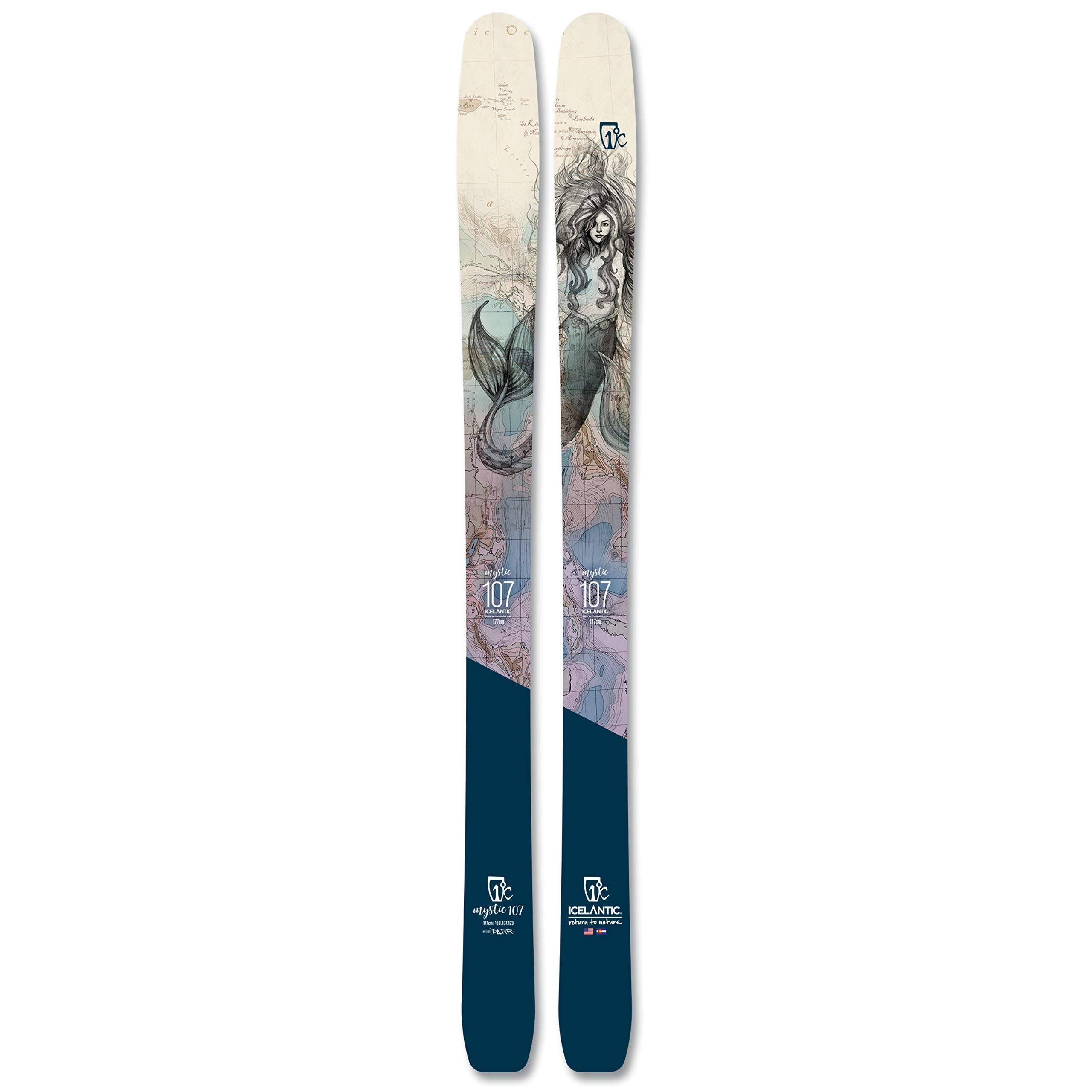 Icelantic Mystic 107 Women's Skis · 2021