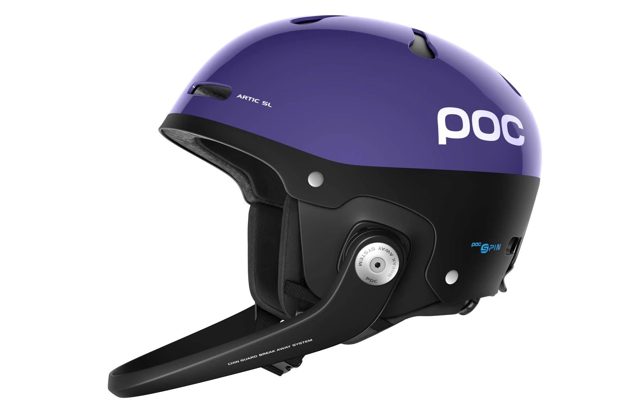 POC Artic SL Spin M-L Ametist Purple Snow Helmet