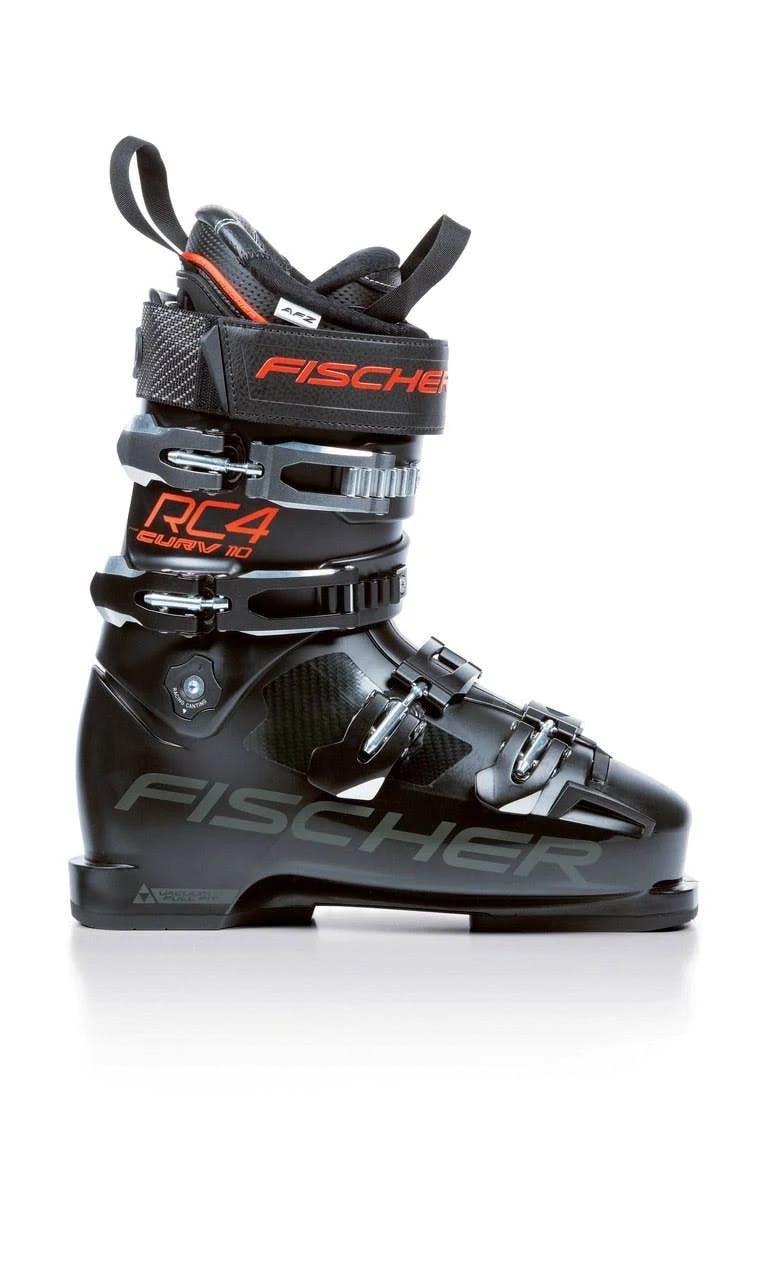 Fischer RC4 Curv 110 Vacuum Full Fit Ski Boots Black 28.5