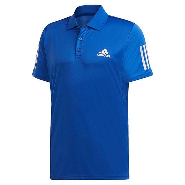 adidas Club 3 Stripe Polo (M)