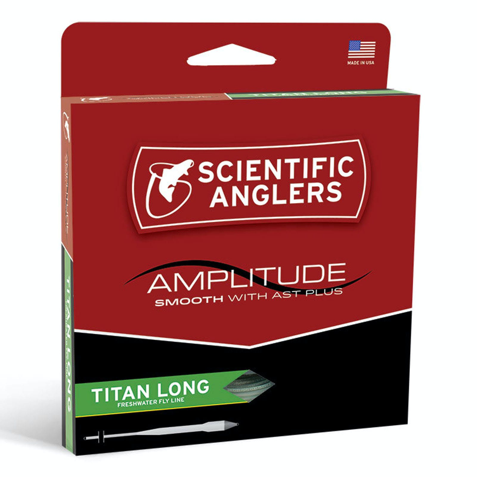 Scientific Anglers Amplitude Smooth Titan Long Fly Line - WF5F