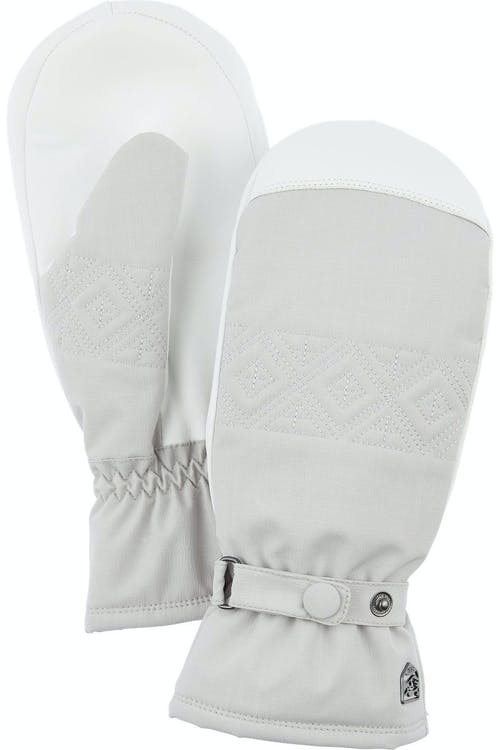 Hestra Swisswool Inverno Mitt 8 Pale Grey