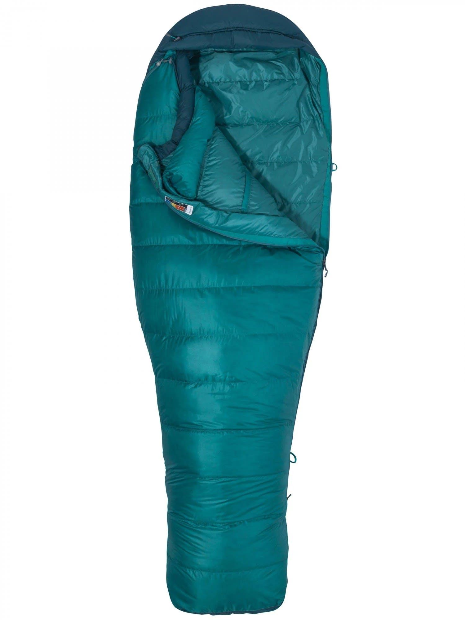 Marmot Angel Fire Sleeping Bag - Women's Malachite/Deep Teal