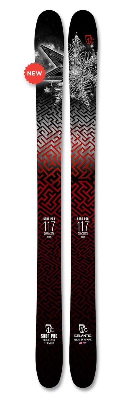 Icelantic Saba Pro 117 Skis