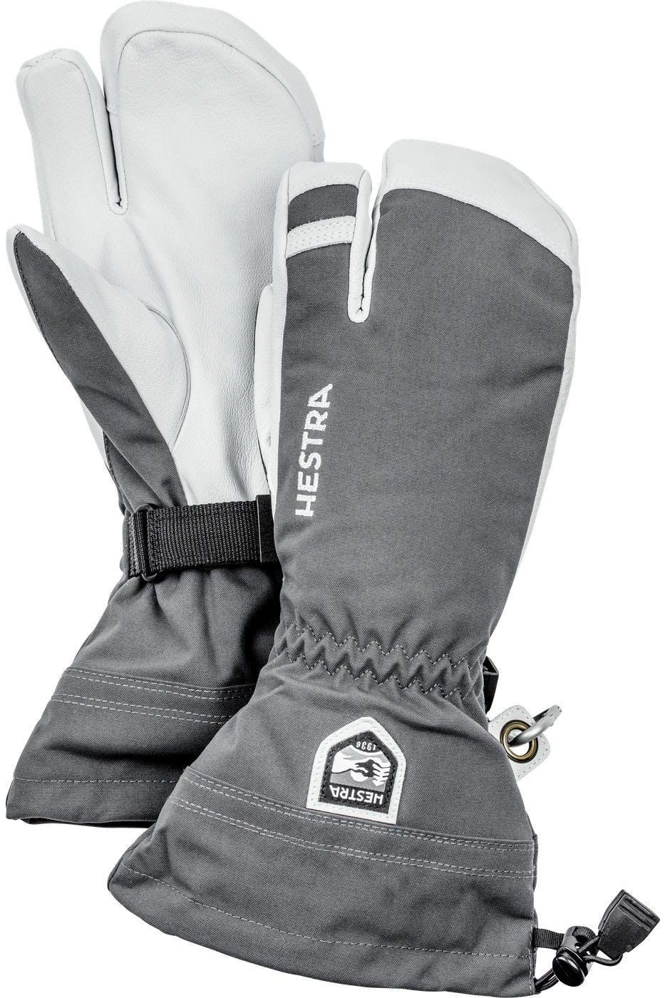 Hestra Heli 3-finger 11 Grey