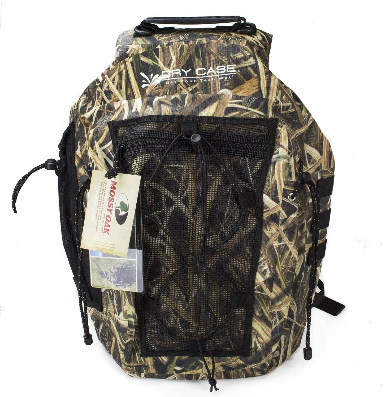 DryCASE Mossy Oak Shadow Grass Blades 35 Liter Waterproof Backpack