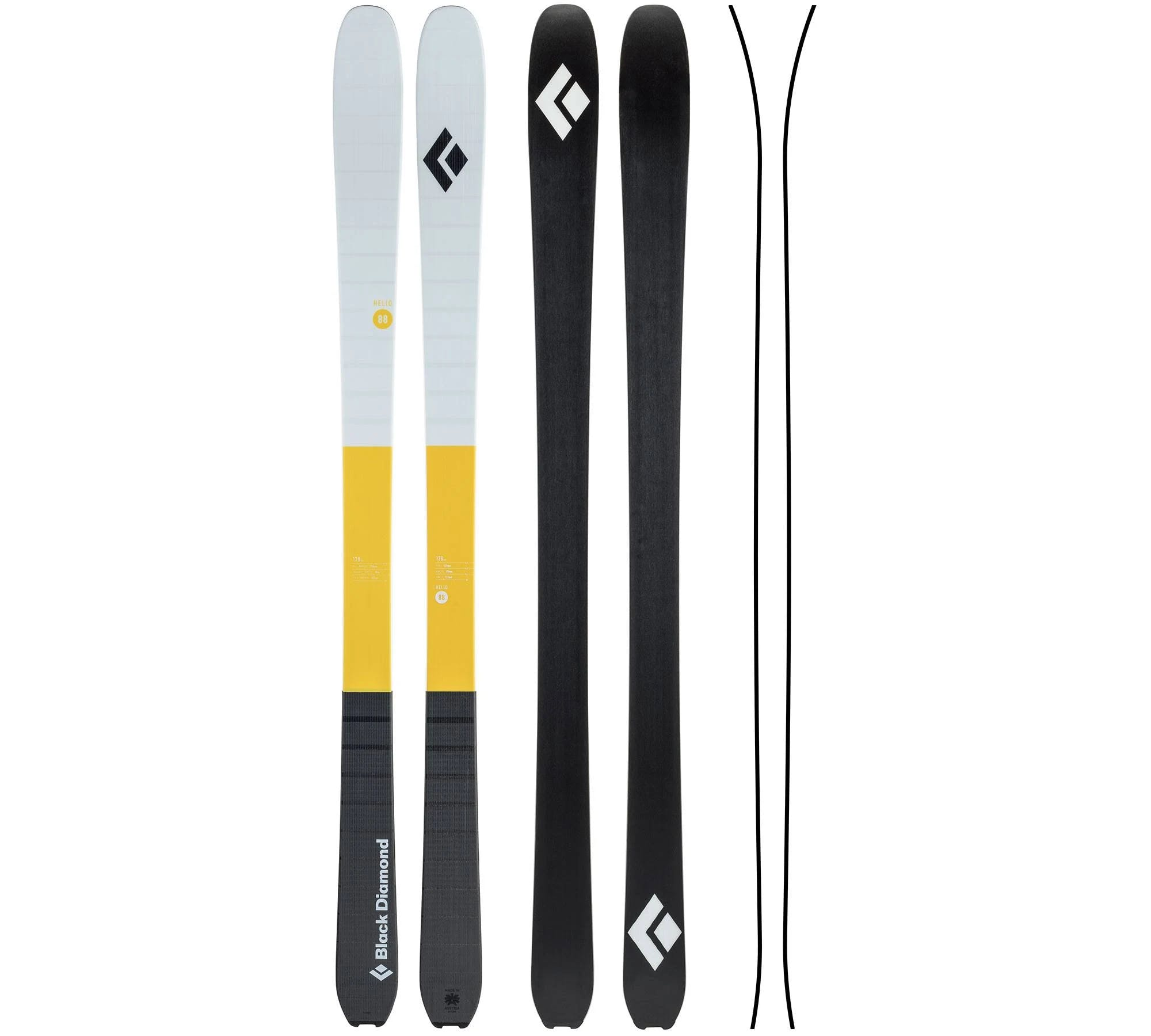 Black Diamond Helio 88 Skis